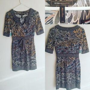 Printed BCBG dress